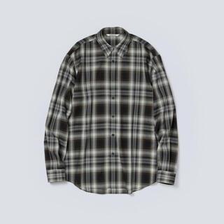 COMOLI - オーラリー チェックシャツ
