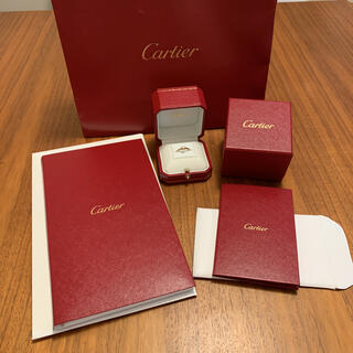 Cartier - 超美品 カルティエ 0.27カラット エンゲージリング