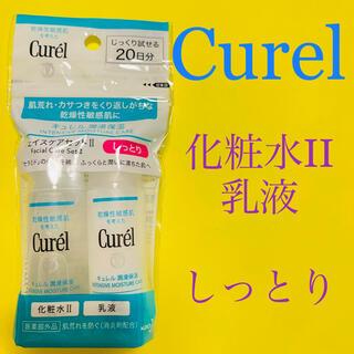 Curel - 【Curel】 キュレル潤浸保湿 フェイスケアセットII(化粧水、乳液) 新品