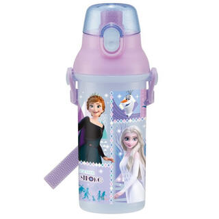 Disney - [新品]  アナと雪の女王 直飲み水筒  子供 キッズ 480ml  抗菌加工