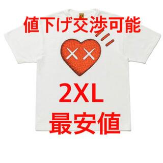 ヒューマンメイド カウズ 2XL T-SHIRT KAWS 最安値!