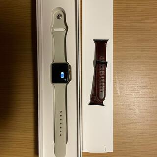 Apple Watch - Apple watch series2 WiFi gold 38mm