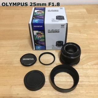 OLYMPUS - OLYMPUS 交換レンズ M.ZUIKO DIGITAL M25F1.8 ブラ