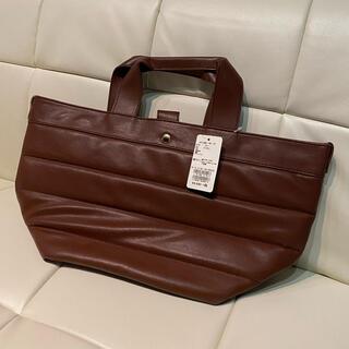 Techichi - 新品4990円テチチtechichi合皮トートバッグ焦茶色ブラウン!ハンドバッグ