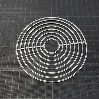 538 カッティングダイ ハンドメイド ダイカット ダイ 円 丸(型紙/パターン)