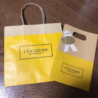 ロクシタン(L'OCCITANE)のロクシタン ラッピング ショップ紙袋(ショップ袋)