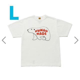 HUMAN MADE  KAWS Tシャツ Lサイズ(Tシャツ/カットソー(半袖/袖なし))