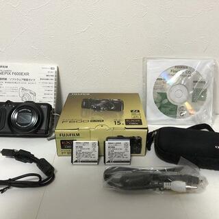 富士フイルム - FinePix F600EXR ブラック デジタルカメラ バッテリー、ケース付