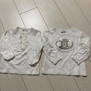 セリーヌ(celine)の美品 セリーヌ ブラウス ロンT セット ベビー(Tシャツ/カットソー)