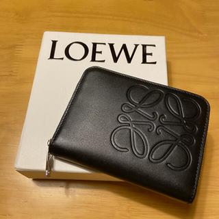 LOEWE - LOEWE ロエベ ミニ財布 カードケース コインケース ブラック ユニセックス