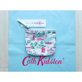 キャスキッドソン(Cath Kidston)の【新品未使用】キャスキッドソン ティッシュポーチ  ホルダー ロンドンマップ(ポーチ)