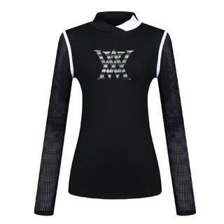 マークアンドロナ(MARK&LONA)の【ANEW】長袖シャツ 黒 Mf1(ウエア)