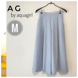 エージーバイアクアガール(AG by aquagirl)の【定番】AG by aquagirl レディース ワイドパンツ M(カジュアルパンツ)