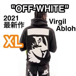 OFF-WHITE パーカー Virgil Abloh ボストン限定 (パーカー)
