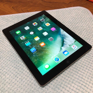 iPad - 美品 Apple iPad 4 第4世代 Retina WiFi+Cell N5