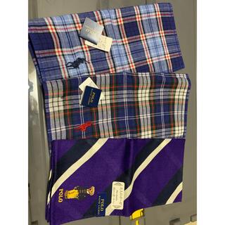 ラルフローレン(Ralph Lauren)のラルフローレン タオル ハンカチ 3枚(タオル/バス用品)