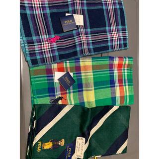 ラルフローレン(Ralph Lauren)のラルフローレン ミニタオル ハンカチ3枚(タオル/バス用品)