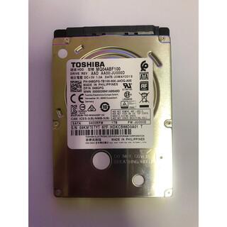 東芝 - 東芝 内蔵HDD 2.5インチ 1TB 薄型モデル ハードデイスク