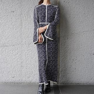mame - 新品21FW MameOsmanthus Motif Knitted Dress