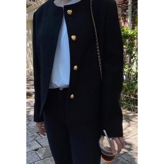 ロンハーマン(Ron Herman)のclassic no-collar jacket(テーラードジャケット)