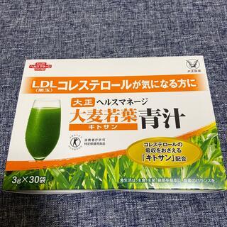 タイショウセイヤク(大正製薬)の大麦若葉青汁 30袋入り(青汁/ケール加工食品)