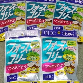DHC - DHC フォースコリーソフトカプセル 15~30日分×5袋 150粒