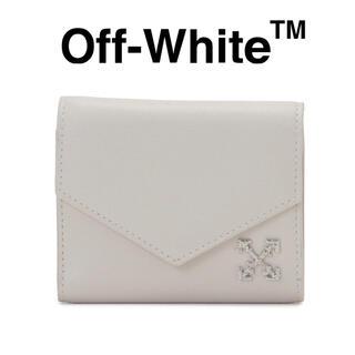"""オフホワイト(OFF-WHITE)の新品 定価6.0万円 Off-White  """"ARROW"""" ハーフウォレット(財布)"""