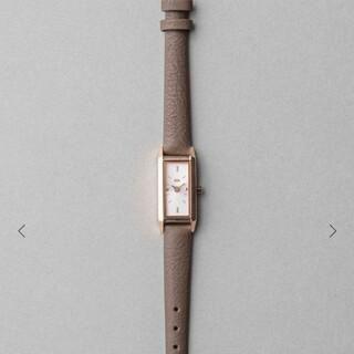 エテ(ete)のete  レクタングルフェイス  腕時計(腕時計)