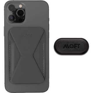 Magsafe対応 MOFT Xスマホ iPhone12シリーズ等 グレー(モバイルケース/カバー)