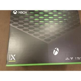 Xbox - xbox series x 新品 シリーズx