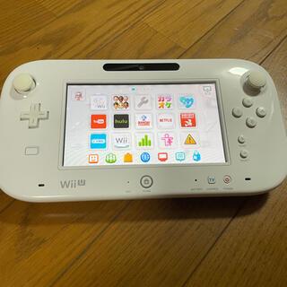ウィーユー(Wii U)のNintendo WiiU ゲームパッド GamePad白(家庭用ゲーム機本体)