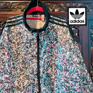 アディダス(adidas)のアディダス オリジナルス 花柄 ジャージ ジャケット ブルゾン ボタニカル 南国(ブルゾン)