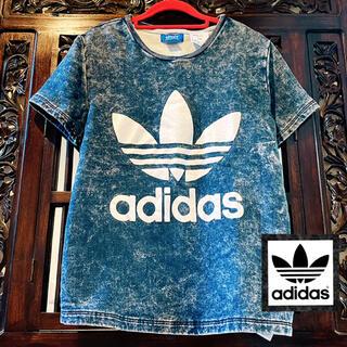 アディダス(adidas)のアディダス デニム Tシャツ トレーナー ジャージ きゃりーぱみゅぱみゅ AAA(Tシャツ(半袖/袖なし))