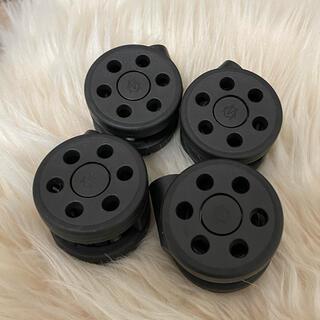 リモワ(RIMOWA)のRIMOWA キャリーケース ローラー 黒(トラベルバッグ/スーツケース)