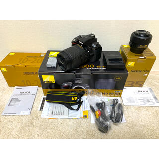 Nikon - 3点セット!D5300 18-140mm +超広角レンズ+単焦点レンズ