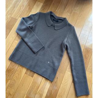 ルネ(René)のルネ 人気完売 カタログ掲載 可愛い 襟付きニット セーター ウール素材(ニット/セーター)