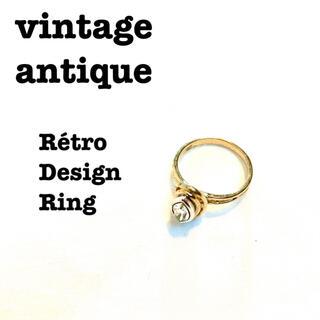 ロキエ(Lochie)の美品【 vintage 】 アンティークジュエリー アンティークリング レトロ(リング(指輪))