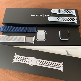 Apple Watch - Apple Watch 6 NIKE GPS 40mmシルバー 新品ベルト2本付