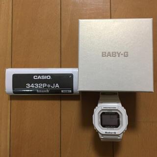 Baby-G - CASIO Baby-G 3432P JA 白