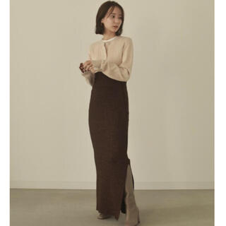 TODAYFUL - louren♡glitter knit skirt