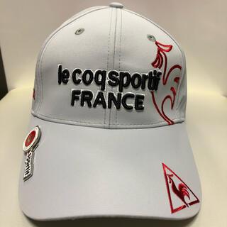 le coq sportif - ★新品未使用★ルコック キャップ ゴルフ ゴルフウェア マーカー付き