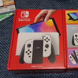 Nintendo Switch - 【新品】Nintendo Switch 本体 (有機ELモデル) ホワイト