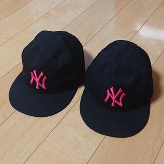 ニューエラー(NEW ERA)のニューエラ キッズ キャップ 2個セット♡(帽子)