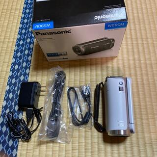 Panasonic - Panasonic  デジタルハイビジョンビデオカメラ HC-W590M-W
