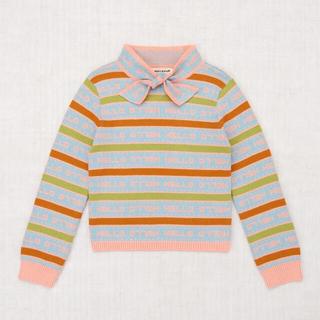 Caramel baby&child  - Misha&Puff Word Stripe Scout Sweater
