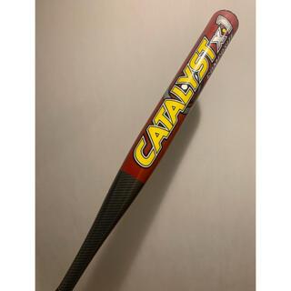 ルイスビルスラッガー(Louisville Slugger)のルイスビルスラッガー カタリストX1 ソフトボール3号バット トップバランス限定(バット)