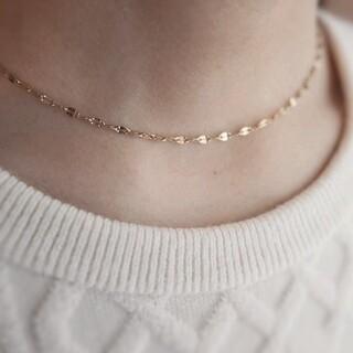 イエナスローブ(IENA SLOBE)の【NEW】Petalchain necklace 🌼 Gold(ネックレス)