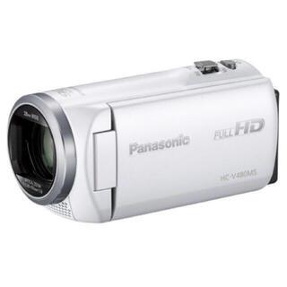 Panasonic - HC-V480MS-W パナソニック ビデオカメラ