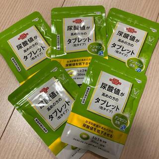 タイショウセイヤク(大正製薬)の尿酸値が高めの方のタブレット(粒タイプ)×5袋セット(その他)