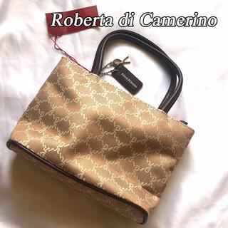 ロベルタディカメリーノ(ROBERTA DI CAMERINO)のタグ付 未使用品 ROBERTA DI CAMERINO ロベルタディカメリーノ(ハンドバッグ)